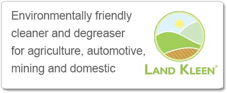Land Kleen - environmentally friendly cleaner and degreaser