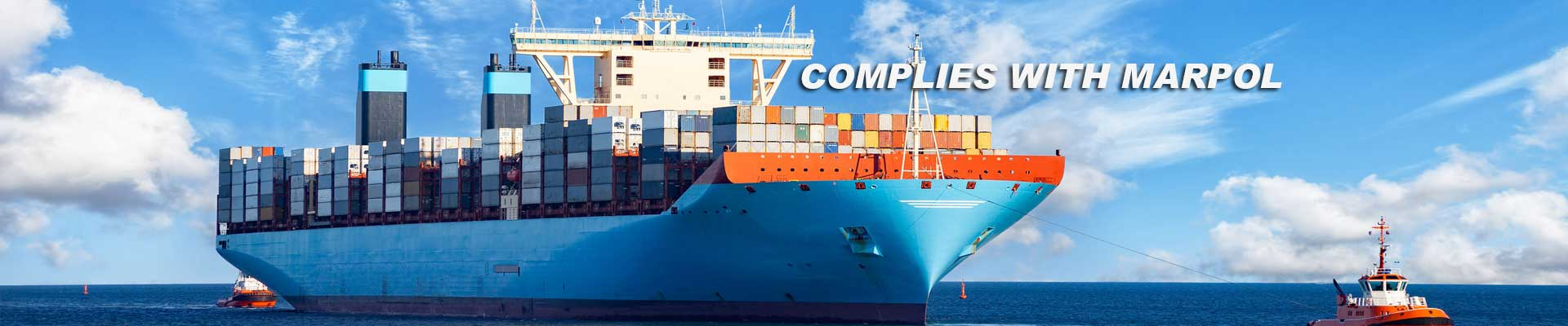 marine kleen - complies with marpol - environmentally friendly cleaner